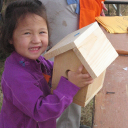 building-birdhouses-at-mitchell-lake-audubon-center